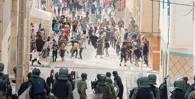 Al Hoceima : 11 manifestants et 72 policiers blessés suite aux événements de jeudi