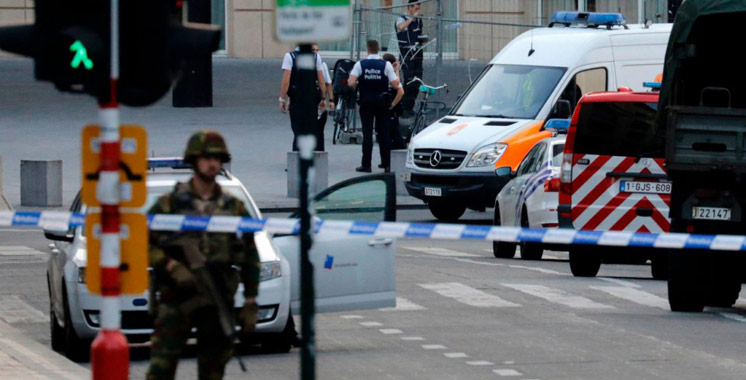 Explosion à la gare centrale de Bruxelles : l'assaillant abattu est un marocain