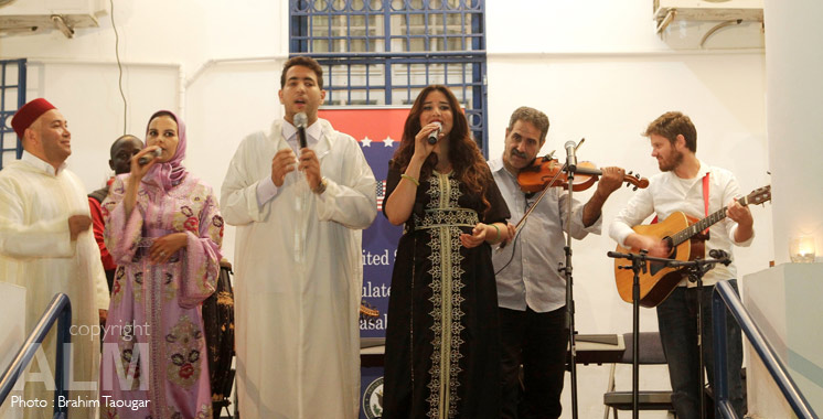 Casablanca : les musiques sacrées à l'honneur au Consulat Général des Etats-Unis