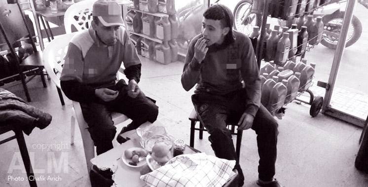 Ftour Avec Abdeljalil, pompiste