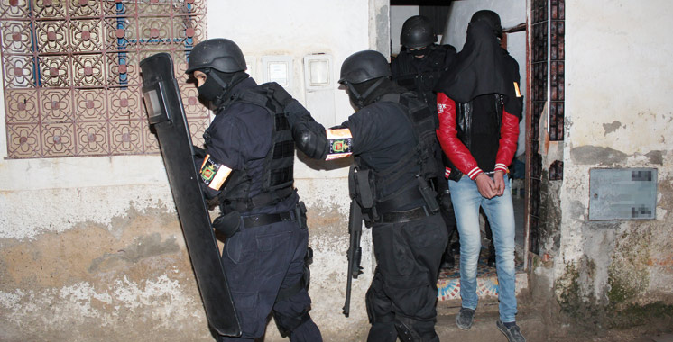 Tanger : Démantèlement d'une cellule terroriste partisane de «Daech»
