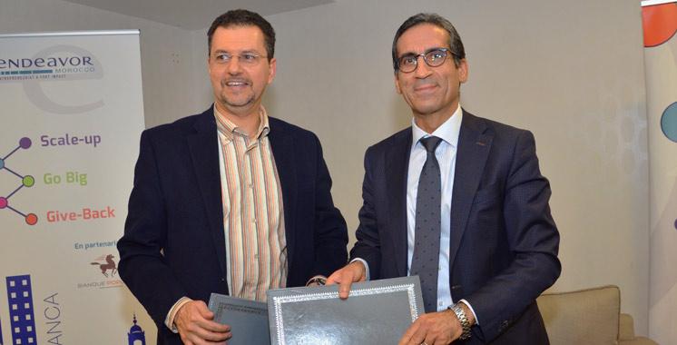 Pour consolider la compétitivité des PME: La Banque populaire met son expertise en faveur d'Endeavor