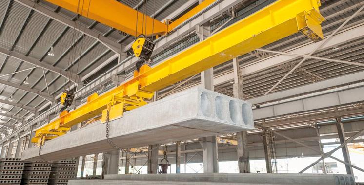 Préfabrication béton : 4 projets pour un investissement de 600 millions de dirhams