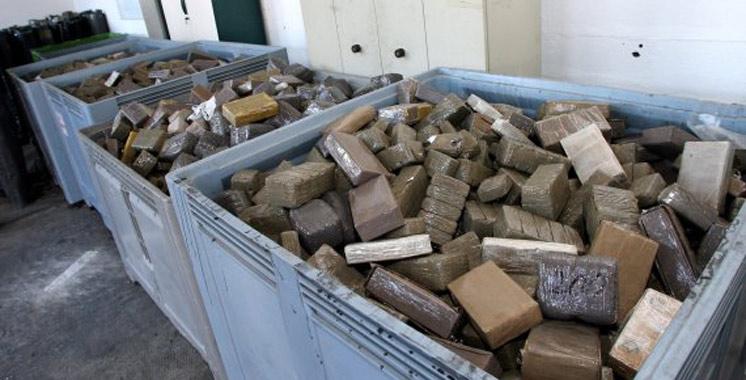 Espagne : démantèlement d'un réseau de trafic de drogue, plus de 5 tonnes de haschisch saisies