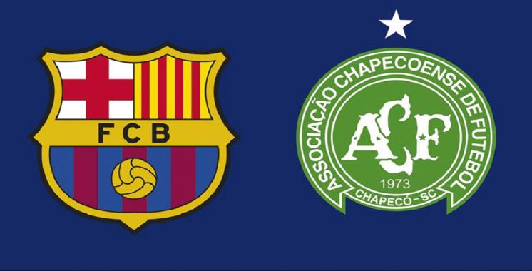 Le Barça jouera un match amical contre Chapecoense le 7 août