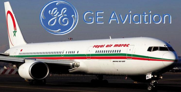 Nouvel accord entre la RAM et GE Aviation