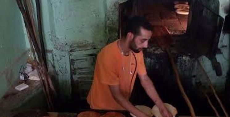 Ftour Avec Hassan, enfourneur dans un four traditionnel