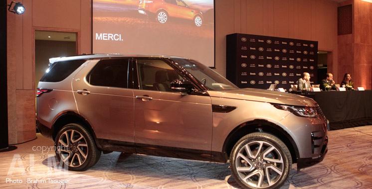 Nouveau Land Rover Discovery: Le meilleur de sa catégorie !