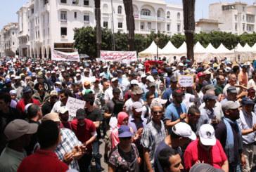 Rabat: des milliers de manifestants à la marche de solidarité avec le mouvement social d'Al Hoceima
