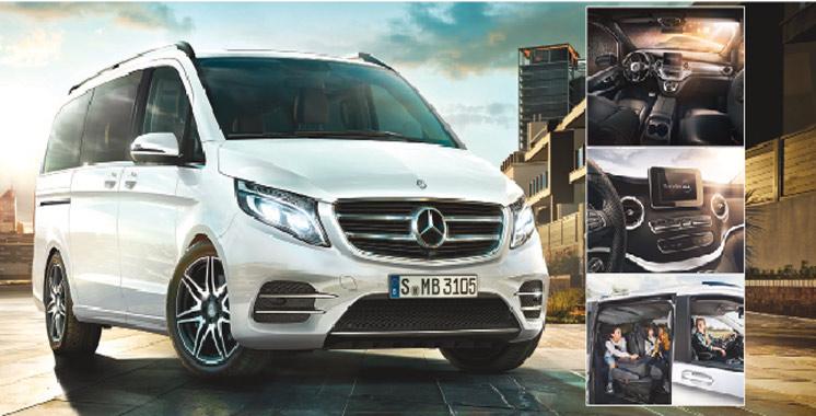 La nouvelle Mercedes Classe V remplace Viano : Allure d'utilitaire, fonction de monospace