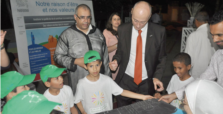Nestlé Maroc: Un ftour en l'honneur de l'association Al Ihssane