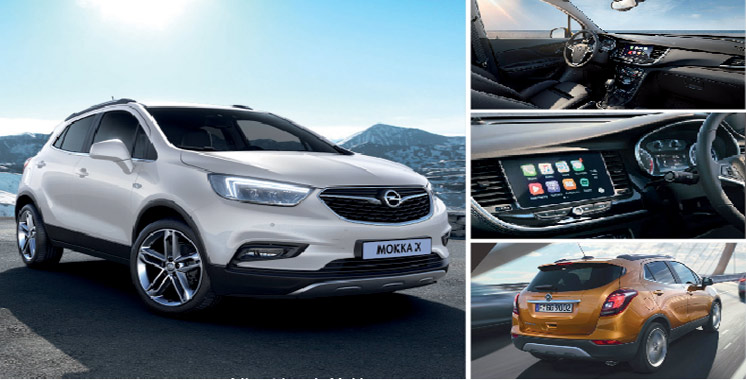 opel mokka x une nouvelle exp rience suv aujourd 39 hui le maroc. Black Bedroom Furniture Sets. Home Design Ideas