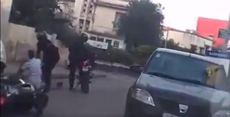 Vidéo : Une course-poursuite à la Marocaine à Fès