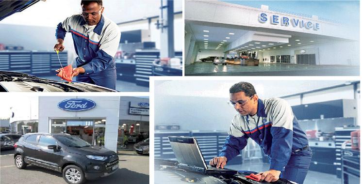 Services après-vente et garanties : Ford innove avec «ESP»