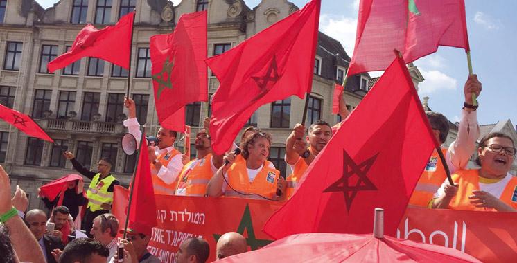Diaspora marocaine – Bruxelles : Près de 500 compatriotes pour un lobbying réussi