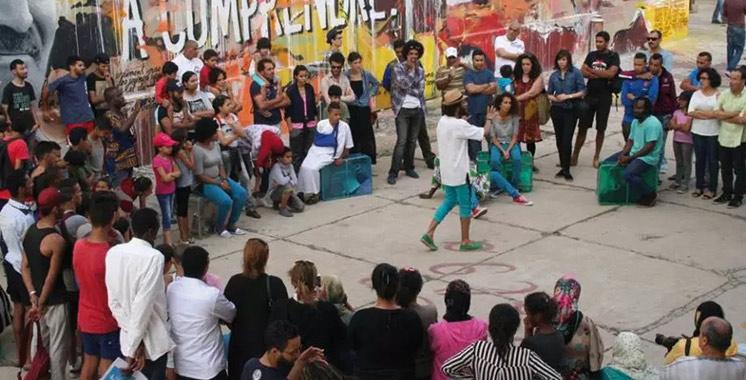 Théâtre de quartier : Une compétition qui professionnalise les jeunes sur les planches