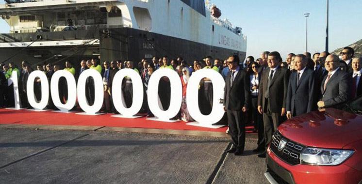 Renault-Maroc célèbre la production du millionième véhicule produit à l'usine de Tanger