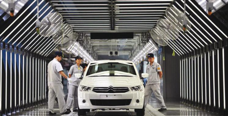 La Chine suspendra la production de 553 modèles de véhicules particuliers