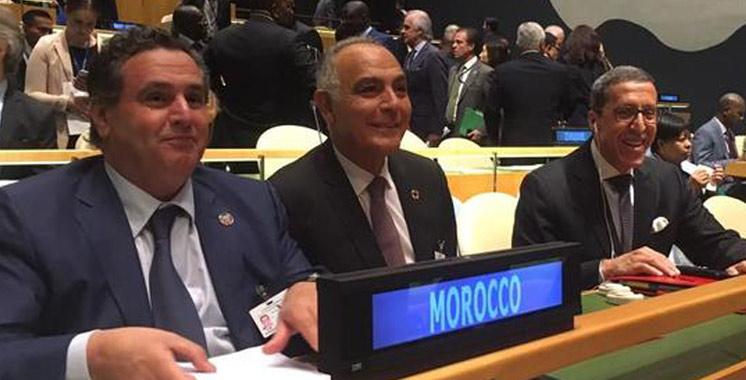 Conférence des Nations Unies sur les océans: Aziz Akhannouch conduit une délégation  marocaine à New York