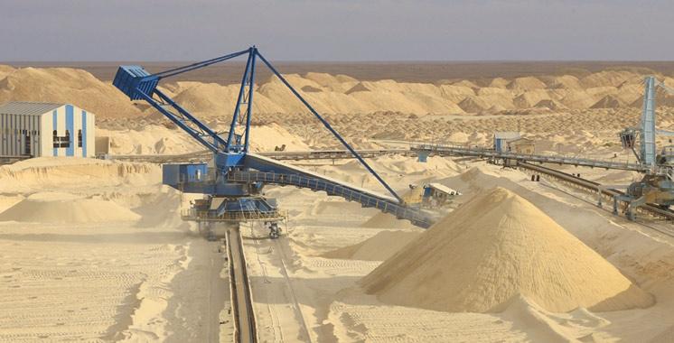 Hausse de 22% de la production de phosphate à fin septembre 2017