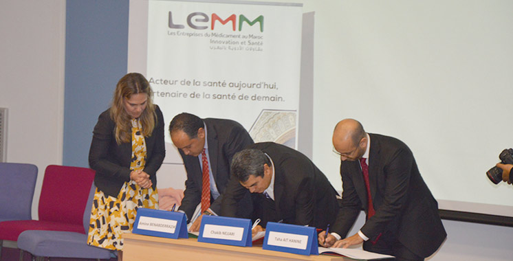 L'UM6SS et Les Entreprises du médicament au Maroc scellent un partenariat