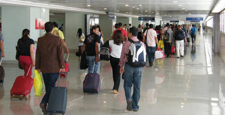 Trafic aérien: Forte hausse en octobre  de 13,34%