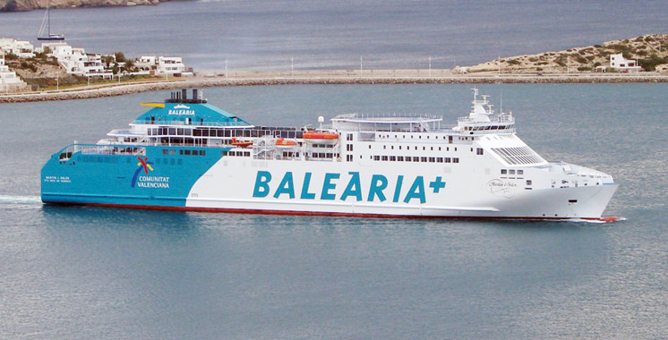 Balearia lance une nouvelle ligne maritime Almeria-Nador