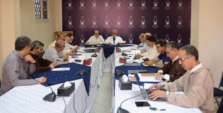 PJD : Les réunions du secrétariat général reprennent