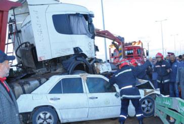 34.318 accidents et environ 1.200 morts en cinq mois