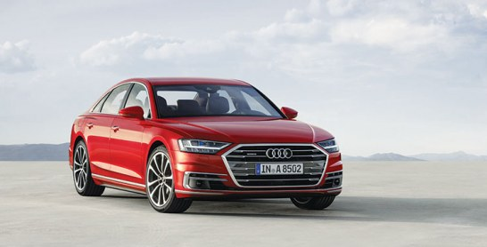 Audi A8: Un nouveau pas vers la conduite autonome
