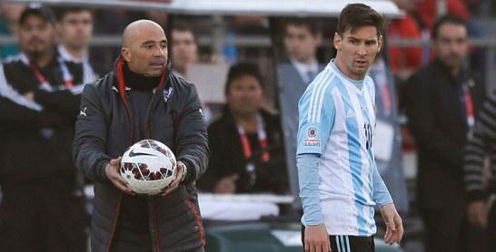 Argentine : Pour Sampaoli, Messi est le seul titulaire indiscutable avec la sélection