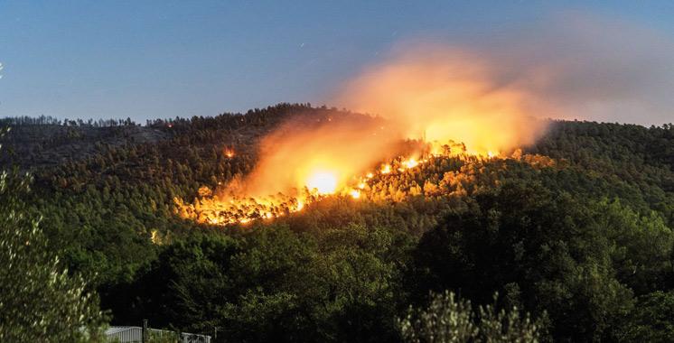France : Près de 12.000 personnes évacuées suite à un nouvel incendie dans le sud est