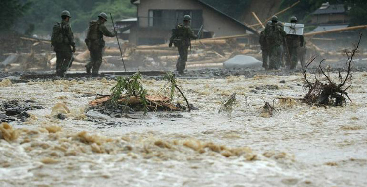 Japon: le bilan des inondations s'alourdit à 25 morts