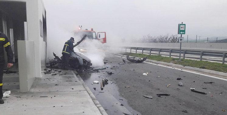 Un ressortissant marocain décède dans un accident  de la route en Grèce