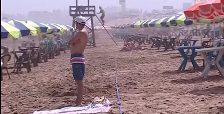 Vidéo : sans aucune autorisation, des individus privatisent la plage de Casablanca