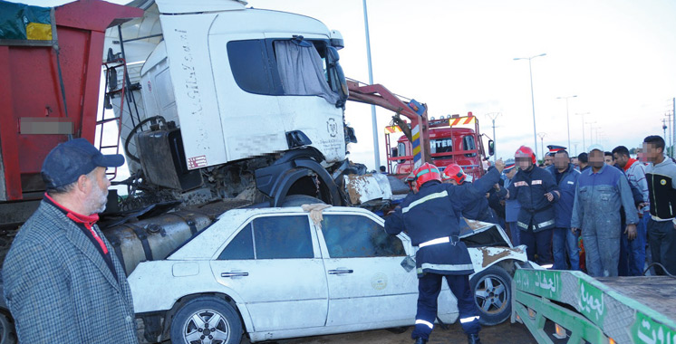 34.318 accidents et environ 1.200 morts en cinq mois