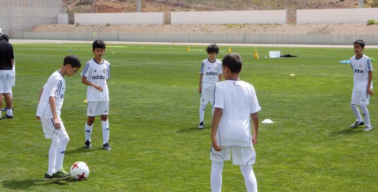 Agadir : La Fondation Real Madrid organise un stage de football pour plus de 200 enfants