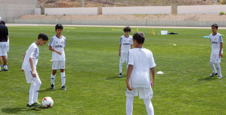 Agadir : La Fondation Real Madrid organise un stage de football pour plus de 200 enfants