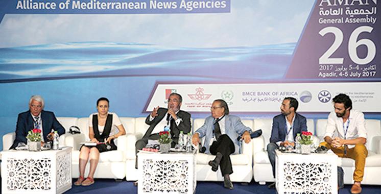 Les agences de presse méditerranéennes en conclave  à Agadir