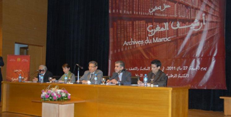 CNDH : Remise des archives de l'Instance indépendante d'arbitrage aux Archives du Maroc
