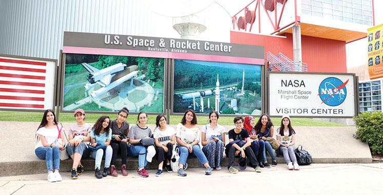 Space Camp : Des étudiantes marocaines à la Nasa