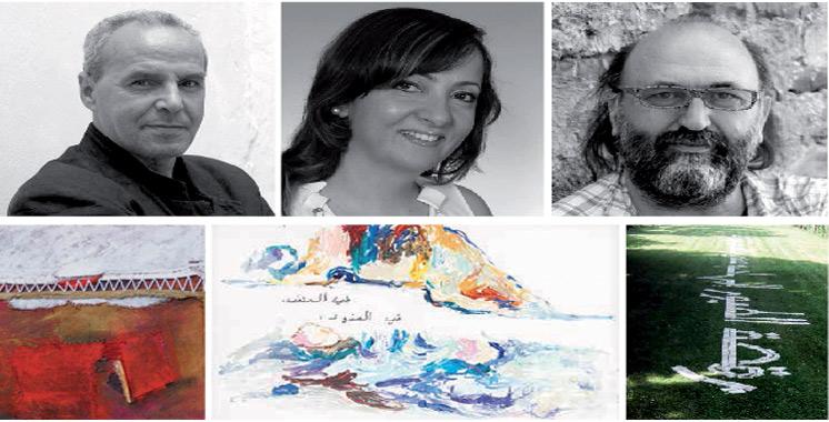 «Au-delà des frontières» : Cinq artistes célèbrent la matière