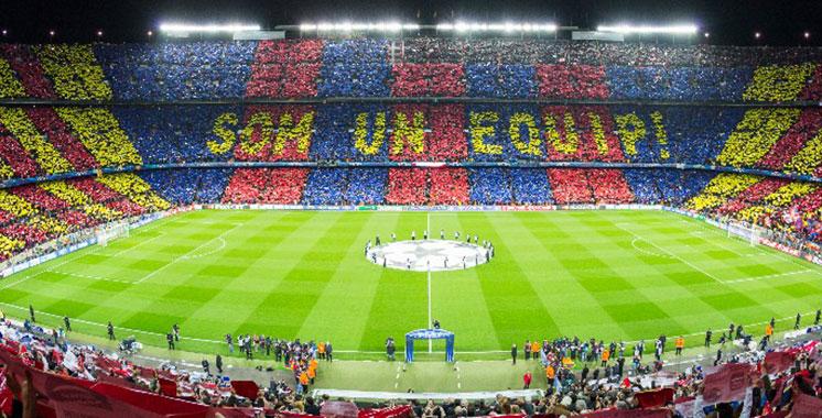 Football : recettes record pour le FC Barcelone en 2016-2017