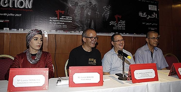 Palmarès du Festival international du théâtre universitaire de Casablanca: «Chute de Gaïa/fin du monde» remporte le Grand prix