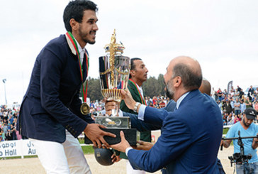 Saut d'obstacles: Amine Sajid remporte le Grand Prix SM le Roi Mohammed VI
