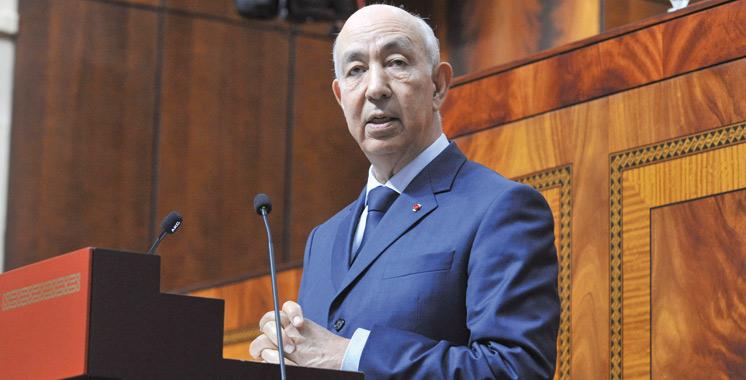 Driss Jettou aujourd'hui au Parlement