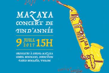 Les élèves Mazaya en concert  de fin d'année