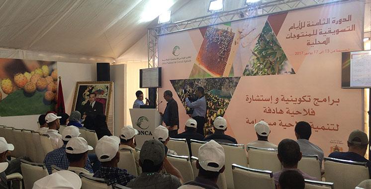 8ème journée de commercialisation des produits du terroir: L'ONCA au chevet des producteurs d'Al-Hoceima