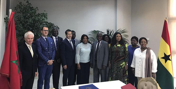 Maroc-Ghana : Un nouveau lien d'affaires se tisse