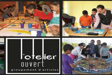 Dispensés dans l'Atelier ouvert à Rabat: Des stages en peinture dès ce vendredi